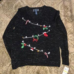 NWT women's medium holiday sweater